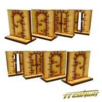 TTCombat - RPG Scenics - (RPG002) Dungeon Doors Set