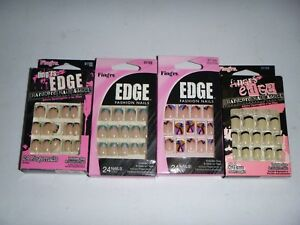 Fing'rs Fashion Nails Stick On Tabs Medium - Choose Your Design - 31120
