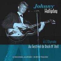 JOHNNY HALLYDAY - A L'OLYMPIA & AU FESTIVAL DE ROCK N' ROLL  CD NEW!