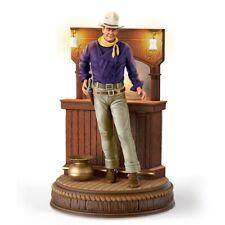 "John Wayne ""Bravery"" Illuminated Figurine fromBradford Exchange"