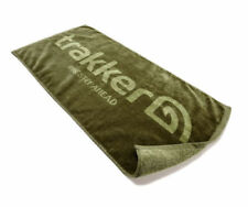 Trakker NEW Carp Fishing Cotton Olive Green Hand Towel - 210106