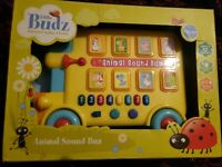 Musical Sound Bus with Animal sounds and Numbered Notes Damaged box,Brand New