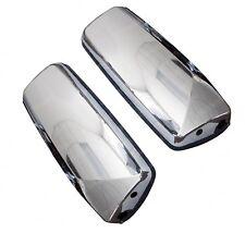 QSC Door Mirror Pair Left & Right Side Chrome W/O Arm Volvo VNL