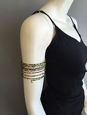 Handmade Cuff Fashion Jewelry #1 Seed Beads 12 Wrap Bracelet