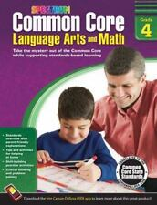Spectrum: Common Core Language Arts and Math, Grade 4 (2014, Paperback)