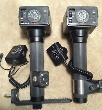Sunpak Auto611 Thyristor Flashers - Some Accessories - Lot of 4 - Pre-owned