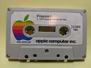 Apple II Cassette Software - Finance I and Penny Arcade