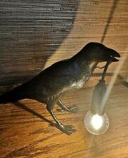 Seletti Style Raven Lamp Light Black White Novelty Bird Crow