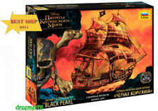 BLACK PEARL CAPTAIN JACK PIRATES OF THE CARIBBEAN, ZVEZDA 9037 1/72, NEW IN BOX