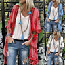 Women Ladies Floral Beach Kimono Blouse Chiffon Cardigan Shawl Cover up Tops NEW