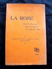RARE La Rose Roseraie de l'Haÿ (Seine)  Jules Gravereau 1906 EO