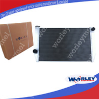 QLD 3 ROW 56MM ALUMINUM RACE RADIATOR FOR FORD FALCON V8 6CYL XC XD XE XF MANUAL