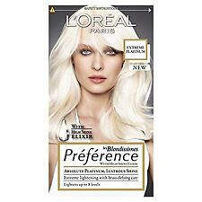 Preference Platinum Extreme Platinum Blonde Hair Dye Colour Fast Delivery New