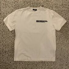 Calvin Klein 205W39NYC Men's Oversized Embroidered Logo T-Shirt RAF Simons M
