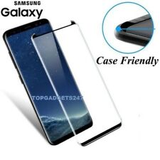 For Samsung Galaxy S9 3D Full Curved Tempered Glass LCD Screen Protector Black