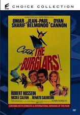 The Burglars DVD 1971 Jean-Paul Belmondo, Dyan Cannon Omar Sharif Henri Verneuil