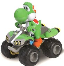 MarioKart 8 Mario Kart Yoshi On A Quad 2.4GHz 1:20 Scale Car / Bike Carrera RC