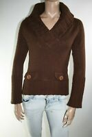 MAX & CO MAGLIONE DONNA Tg. S WOMAN CASUAL VINTAGE SWEATER L321
