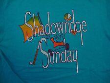 Vintage Shadowridge Sunday Kids Fun Outdoors Sports Recreation T Shirt S