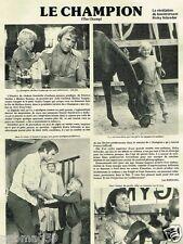 Coupure de Presse Clipping 1979 (1 page) Ricky Schroeder
