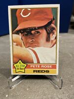 1976 Topps Baseball Card PETE ROSE CINCINNATI REDS # 240