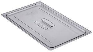 Camwear Food Pan Cover full size, Polycarbonate Clear Plastic NSF, Cambro 10CWCH