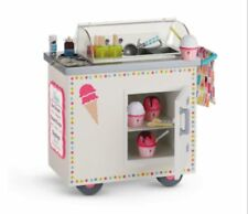 American Girl Doll Ice Cream Cart NEW!!