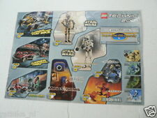 LEGO BROCHURE FLYER CATALOG TOYS TECHNIC 2000 BIONIC DUTCH 2 PAGES 139