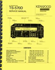 Kenwood Ts-570d DSP HF Transcever With Vs-3 Voice Synthesizer