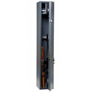3 Gun Cabinet Rifle Shotgun Security Steel Storage Safe Combination Lock 1.5 m