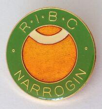 Narrogin Railway Institute Bowling Club Pin Badge Rare Train (M11)
