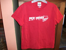 DETROIT RED WINGS NHL Womens M Red Short Sleeve CSA Tee T Shirt EXCELLENT