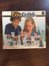 Vintage Exin Castles Golden Series Construction Toy Made In Spain~New!~Rare!