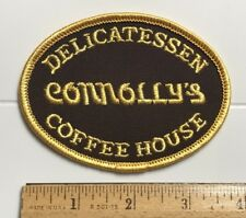 Connolly's Delicatessen Coffee House Souvenir Embroidered Patch