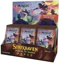 Strixhaven Set-Magic The Gathering Booster Box -! totalmente Nuevo! nuestro poder barco rápido!
