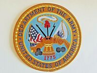 Department of the Army Large Patch United States Of America 15 CM 6 Inches