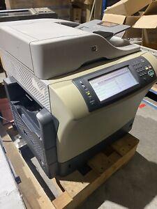 Used HP LaserJet 4345 MFP Printer Copy Fax Scaner