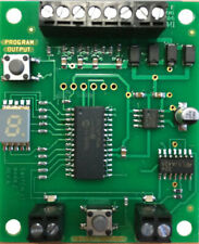 NCE-Switch-it MK2 -- Controls 2 Tortoise Switch Machines Jumper-Less Programming