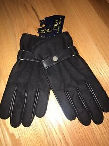 NWT Polo Ralph Lauren Sheep Leather Gloves sz XL