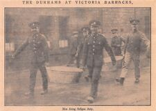 1926 Vintage Belfast Newspaper Photo Clipping The Durhams At Victoria Barracks