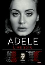 Adele 2016 Concert tour POSTER North America