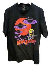 Mars Attacks! Vintage 1990's Tee Warner Bros Tim Burton Movie Promo Shirt Large