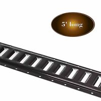 5 Ft E Track Tie-Down Rail System, Powder Coated for Truck/Trailer (5' ETrack)