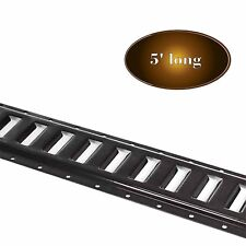 DC Cargo Mall E Track Tie-Down Rail, Black Powder-Coated 12 Gauge Steel...