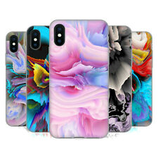 OFFICIAL HAROULITA FLORAL GLITCH SOFT GEL CASE FOR APPLE iPHONE PHONES