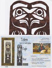 Totem Pole Laser Cut Quilt Appliqué Kit, Eagle Bear, Quilts With A Twist, DIY