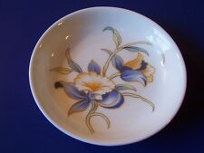 Vintage Aynsley Just Orchids Butter Pat Coaster Pin Dish England Floral Retired