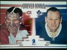 JACQUES PLANTE / JOHNNY BOWER  FOREVER RIVALS / 100  SP