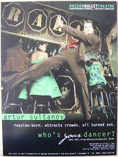 Oregon Ballet 2005 Arthur Sultanov Poster Portland Oregon