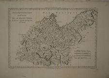 c1780 Genuine Antique map Germany, Poland, Haute Saxe, Pomeranie, Rugen. Bonne